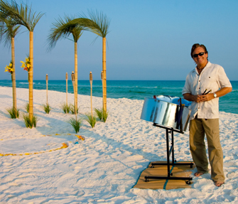 Steel Drums... Island Style!!! The Perfect Music for your Beach Wedding!!!